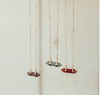 PRISM STONE NECKLACE